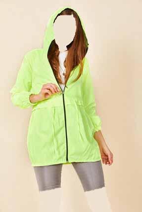 بارانی زنانه اینترنتی برند Morpile رنگ سبز کد ty52327651