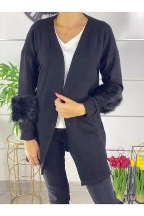 فروش ژاکت بافتی جدید برند ELBİSENN رنگ مشکی کد ty52970041
