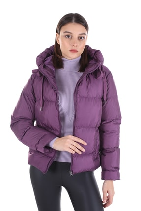 خرید انلاین کاپشن زنانه طرح دار برند Brendon رنگ بنفش کد ty58878765
