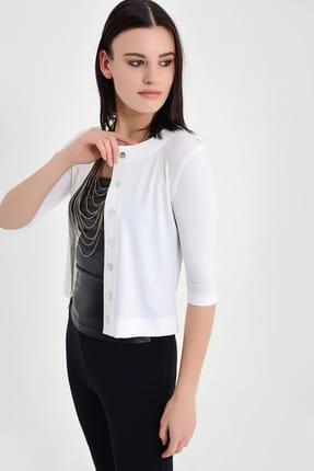 خرید نقدی ژاکت بافتی زنانه برند Laranor رنگ طلایی ty5888932