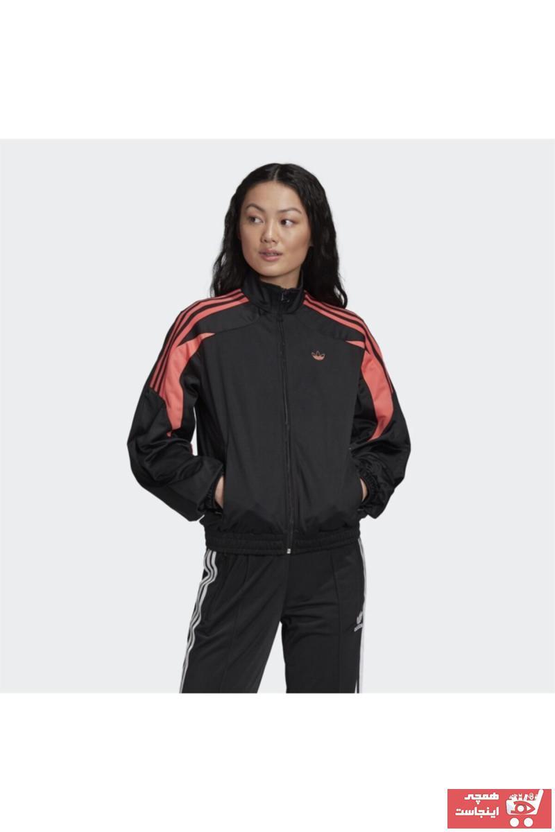 سفارش نقدی گرمکن ورزشی زنانه برند adidas رنگ مشکی کد ty68193470