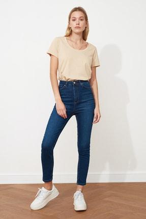 شلوار جین فانتزی برند ترندیول میلا رنگ لاجوردی کد ty73447021