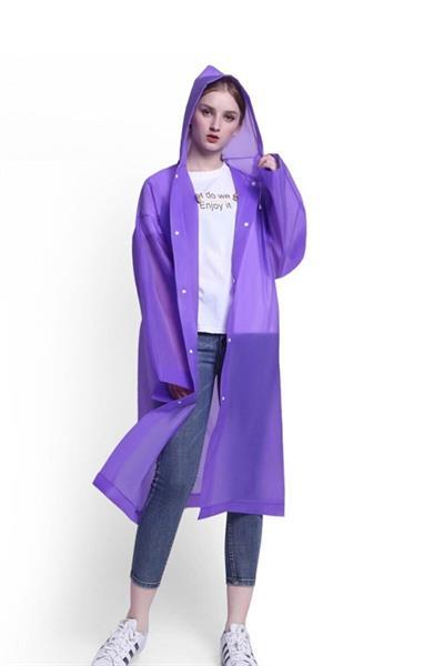 بارانی زنانه ترکیه برند Marlux رنگ بنفش کد ty77765199