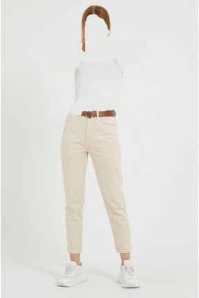 خرید پستی شلوار شیک زنانه برند MARKETUNGA رنگ بژ کد ty80107746
