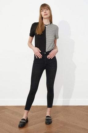 خرید انلاین شلوار جین زنانه خاص برند ترندیول میلا رنگ مشکی کد ty82323415