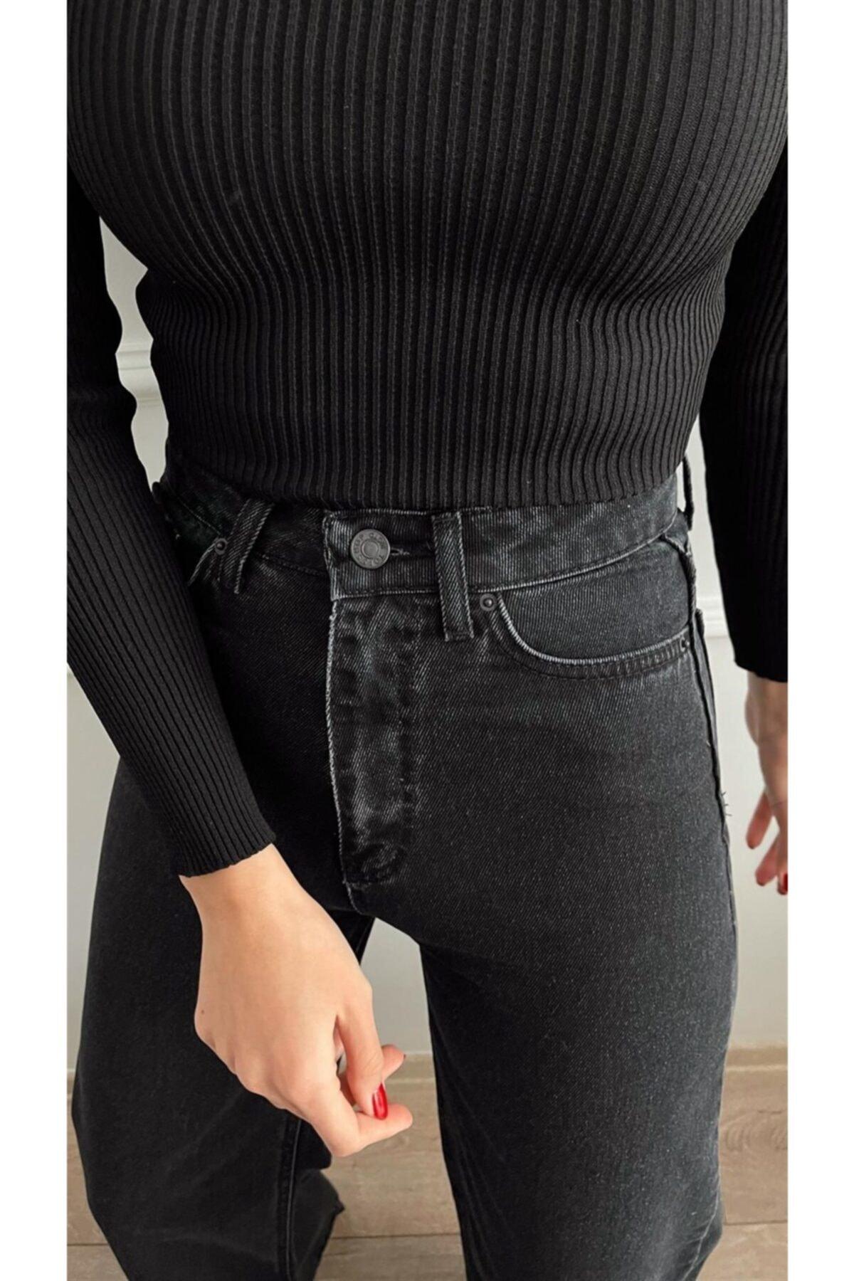 شلوار جین زنانه ترکیه برند DENİMKOLİK رنگ لاجوردی کد ty83088318