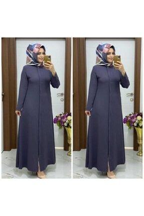 خرید انلاین مانتو پاییزی زنانه ترکیه برند modasura رنگ نقره ای کد ty104123597