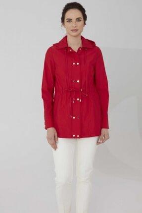 مانتو پاییزی زنانه اسپرت جدید برند Selen Giyim رنگ قرمز ty104915749
