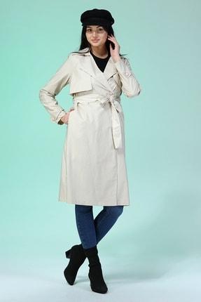 مانتو پاییزی زنانه خاص برند heradise رنگ بژ کد ty122927509