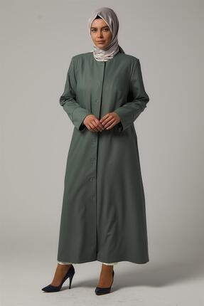 فروش مانتو زنانه  برند Kayra رنگ سبز کد ty44309524