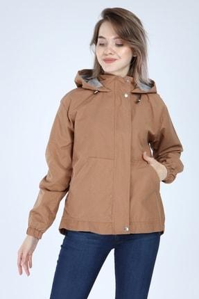 فروشگاه مانتو زمستانی زنانه اینترنتی برند PORİENTO رنگ قهوه ای کد ty55606424
