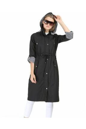مانتو زمستانی زنانه مدل دار برند xesese رنگ مشکی کد ty88376858