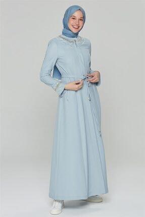 خرید مدل مانتو زنانه برند Armine رنگ آبی کد ty98310227