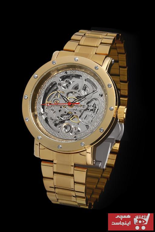 خرید ارزان ساعت مردانه برند COMMES رنگ طلایی ty100056749