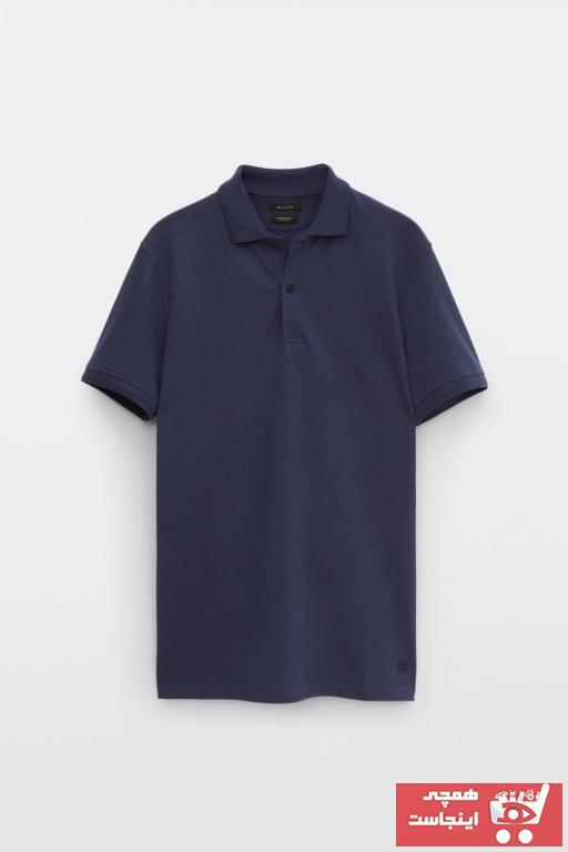 پولوشرت زنانه ست برند Massimo Dutti رنگ آبی کد ty100094375
