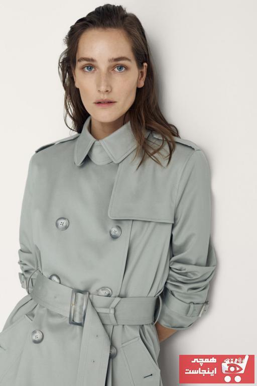 خرید ارزان مانتو زمستانی  زنانه برند Massimo Dutti رنگ آبی کد ty100095112