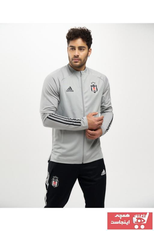 خرید نقدی گرمکن ورزشی مردانه  برند Beşiktaş رنگ نقره ای کد ty100185554