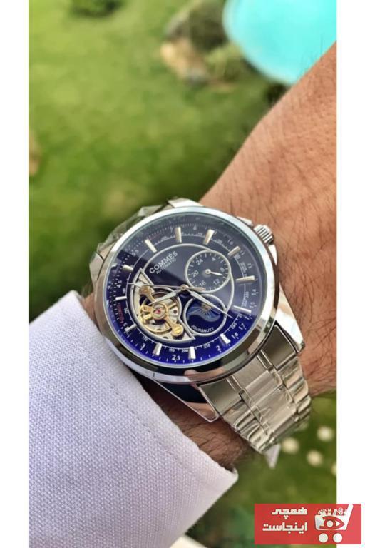 خرید ساعت مردانه 2021 برند COMMES رنگ نقره کد ty100353471