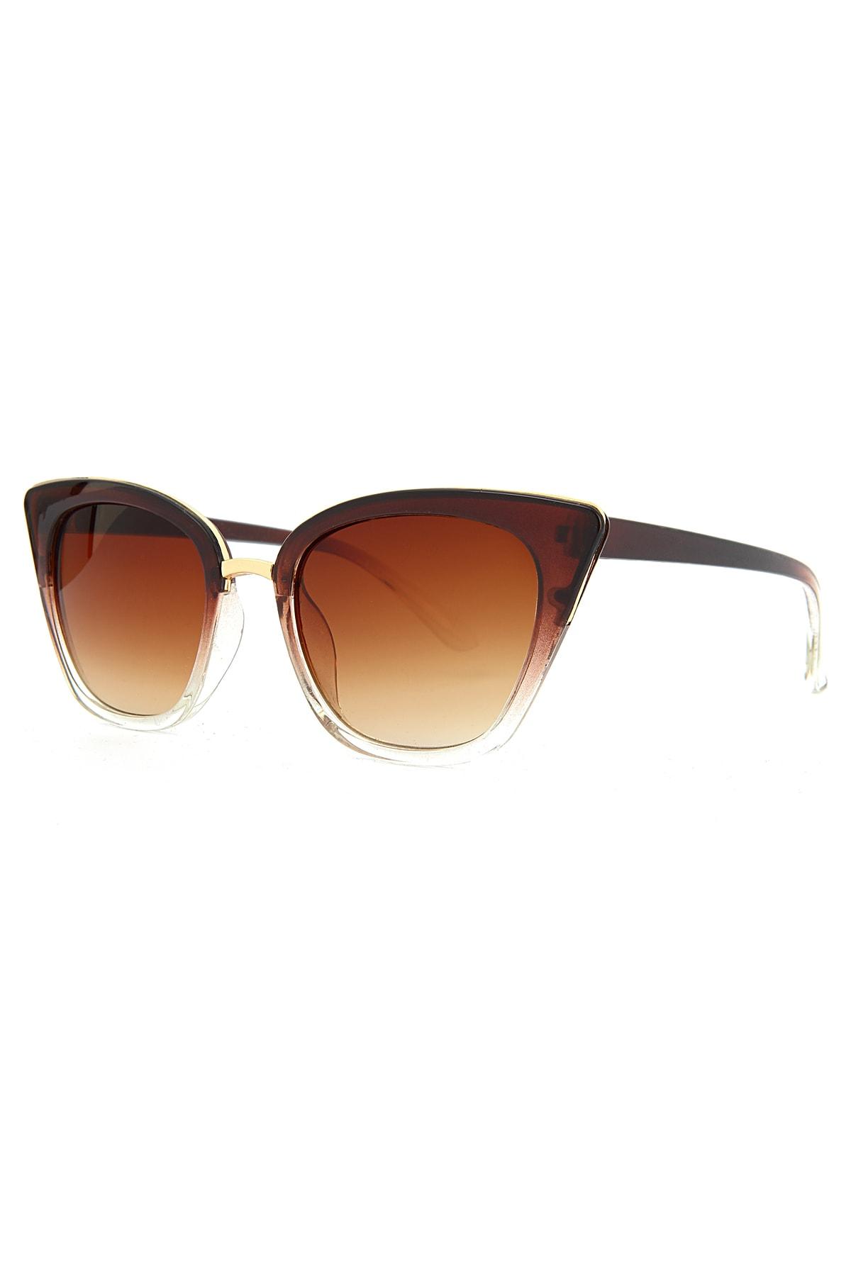 سفارش انلاین عینک آفتابی ساده مارک Aqua Di Polo 1987 رنگ قهوه ای کد ty100409605