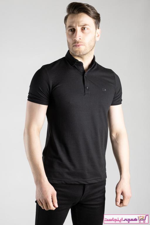 تی شرت مردانه اینترنتی بند ZEKİ ÖZER رنگ مشکی کد ty100435701