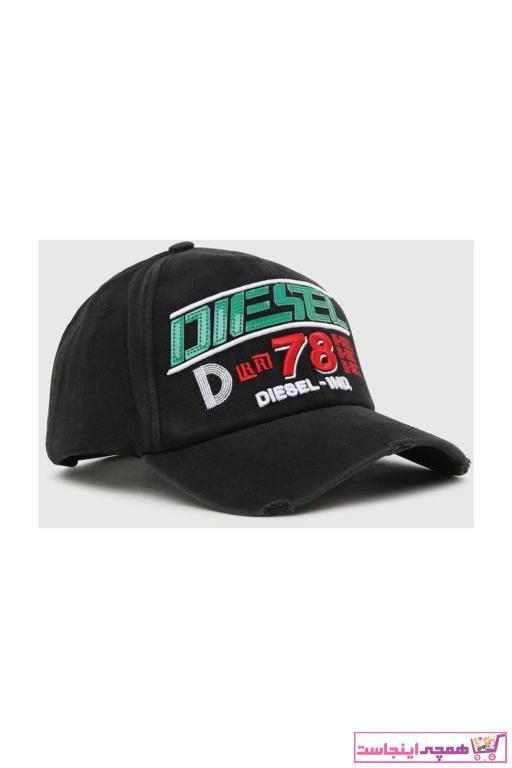 کلاه مردانه فروش برند دیزل رنگ مشکی کد ty100461076