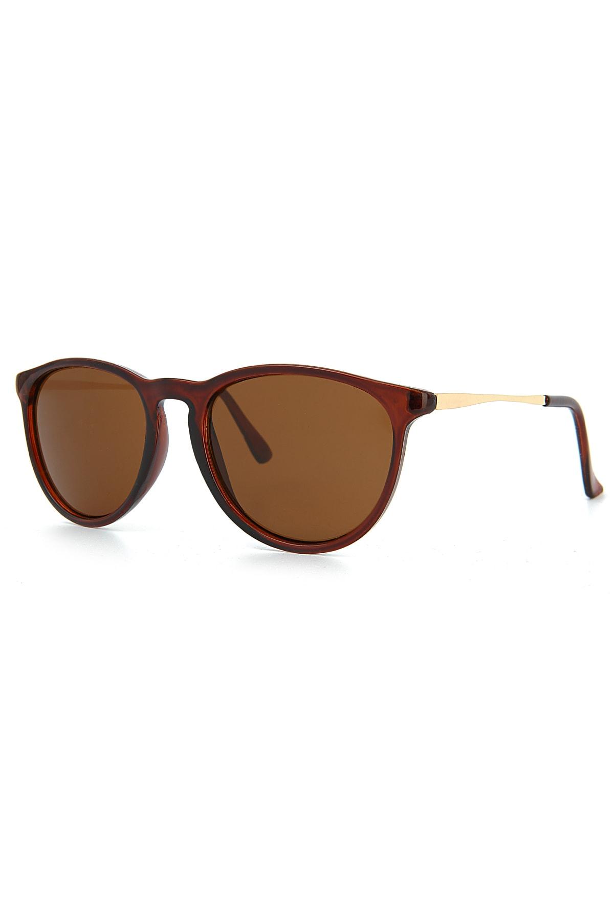 عینک آفتابی زنانه فروشگاه اینترنتی برند Aqua Di Polo 1987 رنگ قهوه ای کد ty100500153