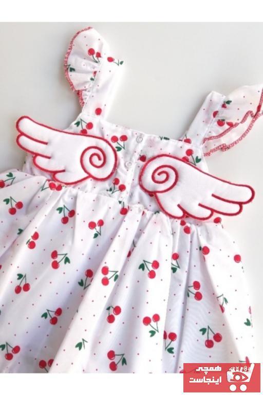 لباس مجلسی نوزاد دخترانه مارک دار برند Toka Perisi رنگ قرمز ty100684104