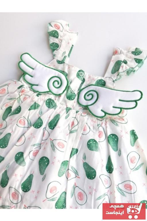 فروش لباس مجلسی نوزاد دخترانه حراجی برند Toka Perisi رنگ سبز کد ty100717555