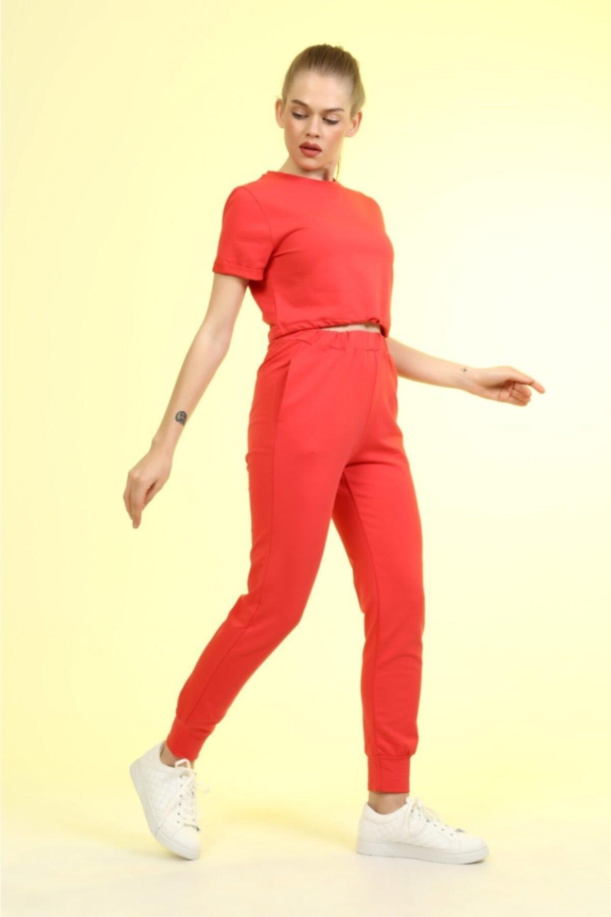 فروش انلاین ست ورزشی زنانه ارزان برند KOZAMODA رنگ صورتی ty101003962