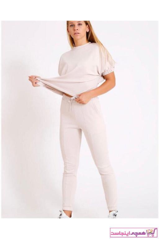 فروش ست ورزشی زنانه برند KOZAMODA رنگ بژ کد ty101004051