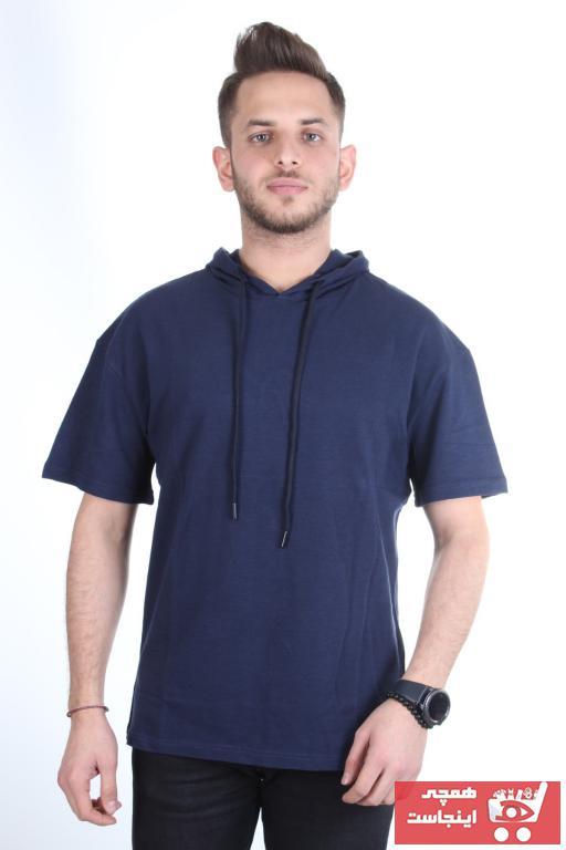 سفارش نقدی تیشرت ورزشی ارزان برند TREND YAŞAR رنگ لاجوردی کد ty101097530