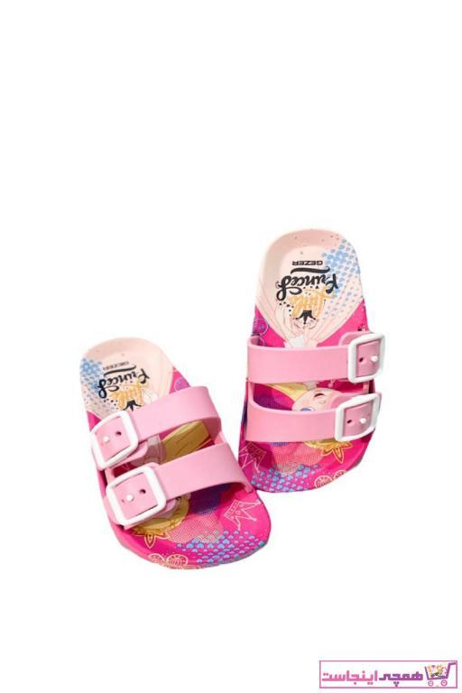 اصل دمپایی نوزاد دخترانه برند GEZER رنگ صورتی ty101109491