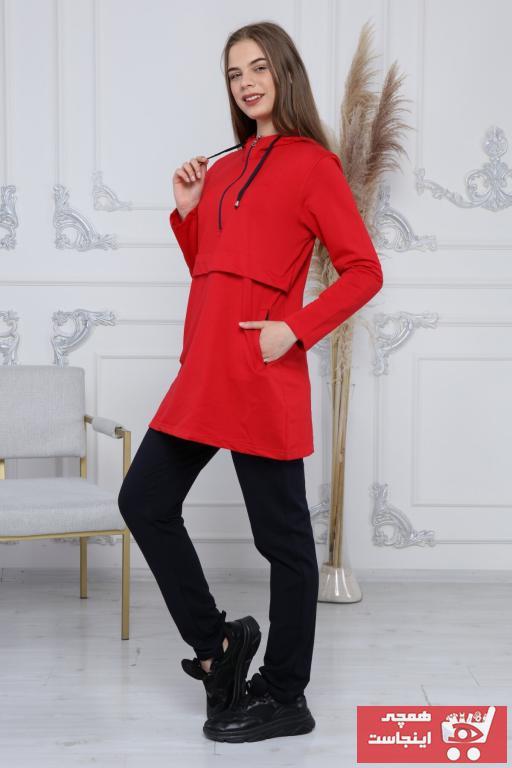 خرید انلاین ست ورزشی زنانه خاص برند RENKSAR رنگ قرمز ty101274314