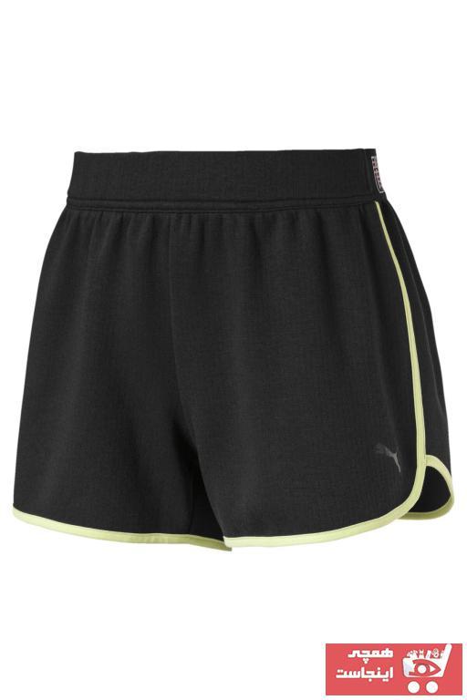 خرید اسان شلوارک ورزشی مردانه جدید برند پوما رنگ مشکی کد ty101932199