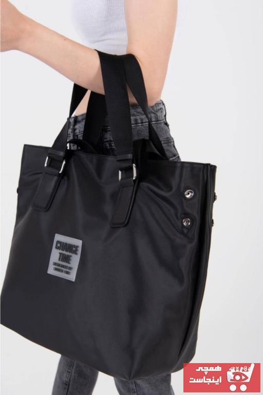 سفارش کیف دستی مردانه ارزان برند Newish رنگ مشکی کد ty102328963