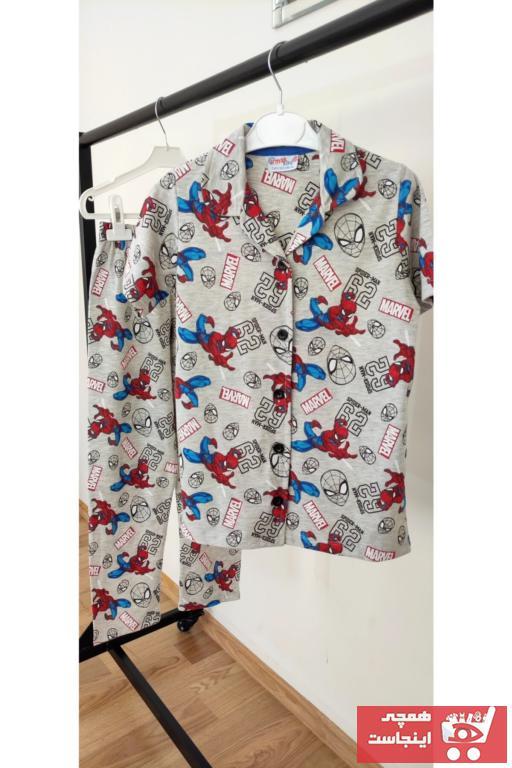 ست راحتی دخترانه فروش برند Irmak kids رنگ آبی کد ty102343257