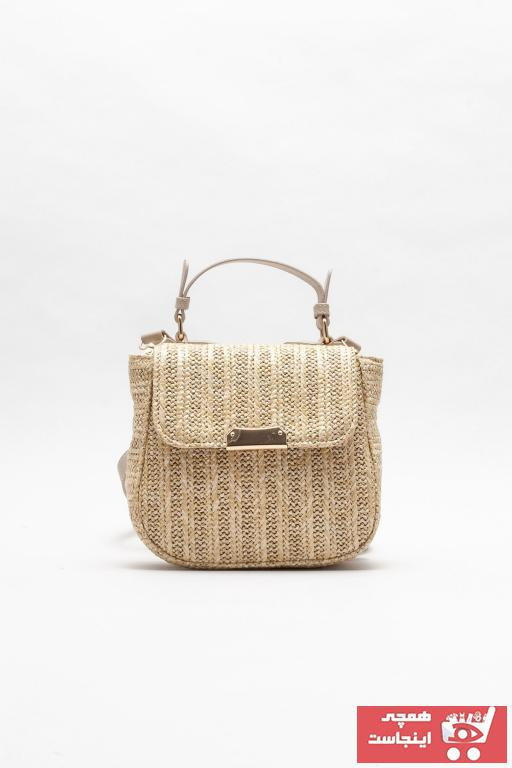 فروش کیف دستی جدید برند Elle Shoes رنگ صورتی ty102712620