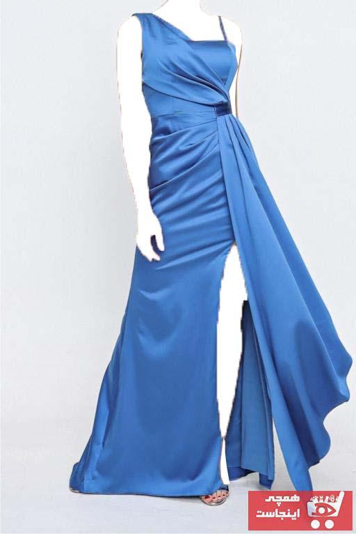 لباس مجلسی خاص برند ZEROPOINT رنگ آبی کد ty102734262