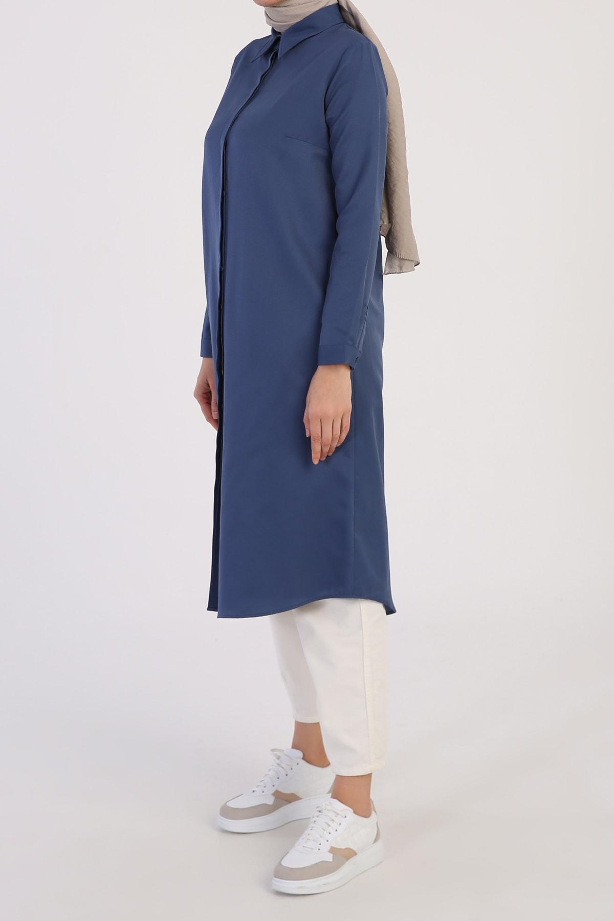 تونیک زنانه فروش برند ALLDAY رنگ آبی کد ty102751006