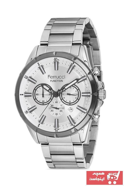 سفارش ساعت مچی مردانه  برند Ferrucci رنگ نقره کد ty102763766