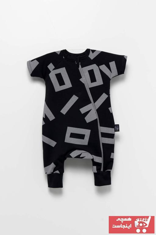 خرید اسان سرهمی نوزاد پسرانه زیبا برند Moi Noi رنگ مشکی کد ty102767188