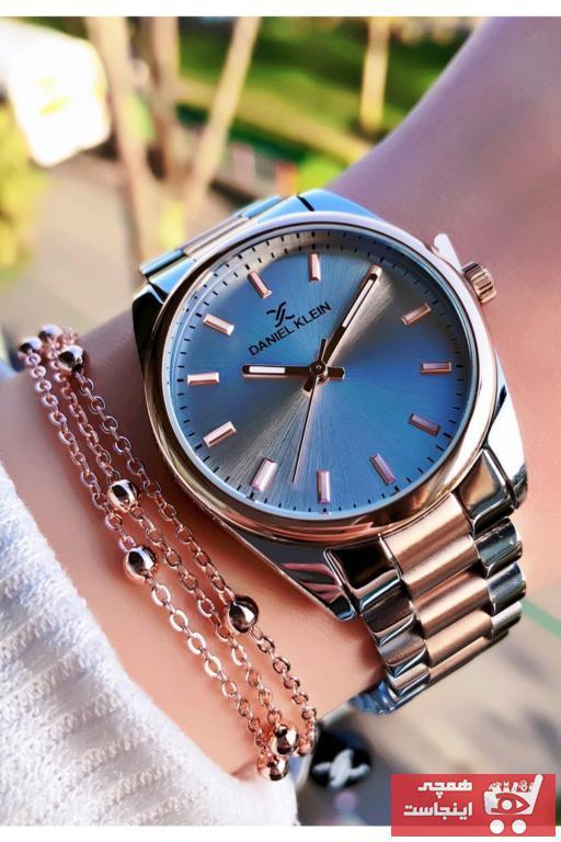 خرید ارزان ساعت زنانه اورجینال برند Daniel Klein رنگ نقره کد ty102790821