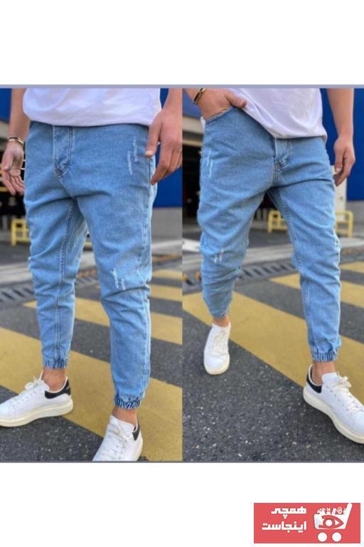 فروشگاه شلوار مردانه تابستانی برند SCB STORE رنگ آبی کد ty102929751