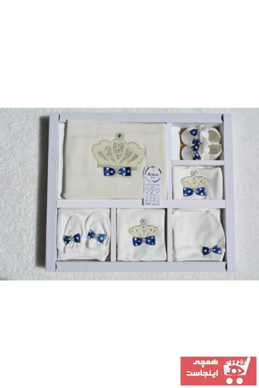 ست لباس شیک نوزاد برند BRAVA BABY رنگ لاجوردی کد ty102951364