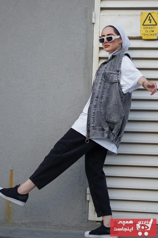 جلیقه زنانه اسپرت برند modaalone رنگ نقره ای کد ty102999351