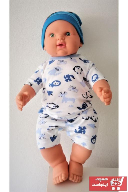سرهمی نوزاد پسرانه شیک domini رنگ بژ کد ty103355016