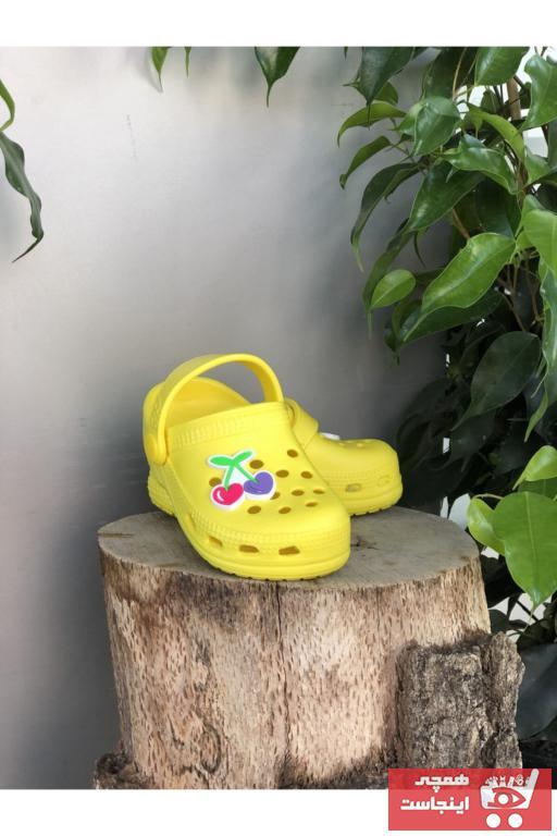 خرید ارزان دمپایی نوزاد پسرانه پیاده روی برند Sonimix رنگ زرد ty103407566