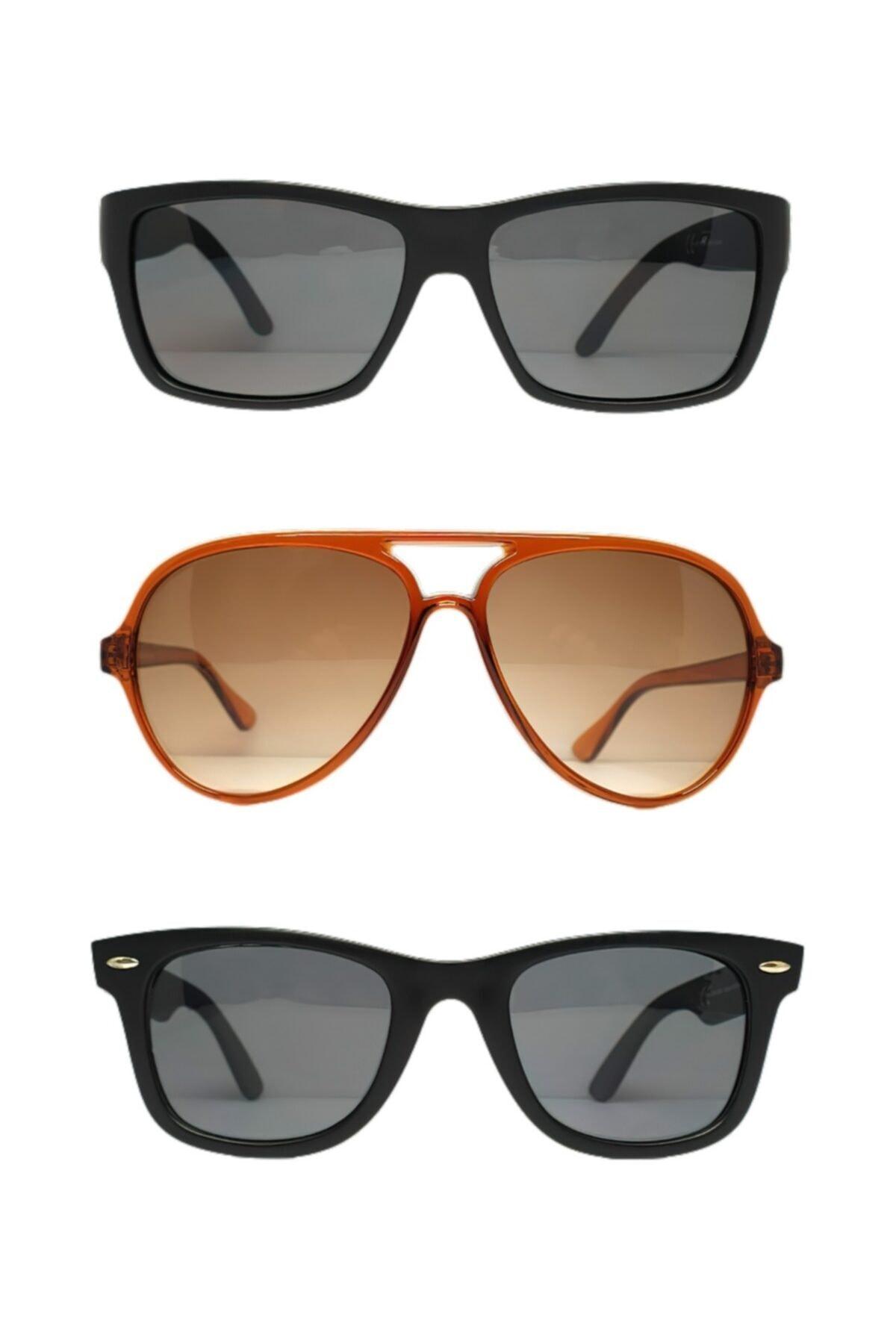 عینک آفتابی مردانه ترک مجلسی برند Violetta رنگ مشکی کد ty103616038