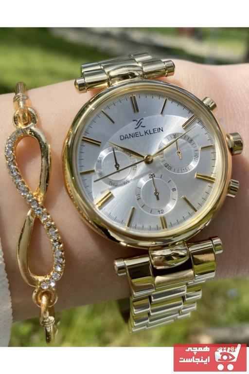 خرید پستی ساعت مچی زنانه اصل برند Daniel Klein رنگ طلایی ty103681355