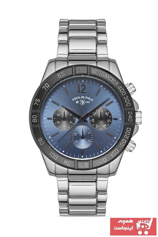 خرید اینترنتی ساعت مردانه اورجینال برند Aqua Di Polo 1987 رنگ نقره کد ty103748525